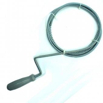 Rohrreinigungswelle 1,5 m Rohrreinigungsspirale Abflussreiniger