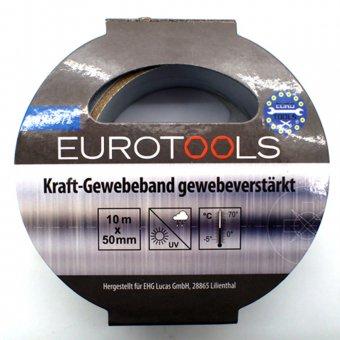 Kraft-Gewebeband gewebeverstärkt  silber Panzertape Reparaturband