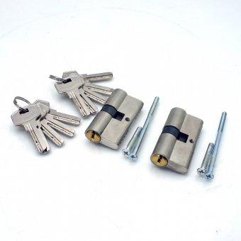 Sicherheitstürzylinder-Satz 60mm (30/30), 2-teilig mit Schlüssel