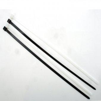 masterproof werkzeuge kabelbinder uv best ndig schwarz wei 400 x 7 8 mm 20 st ck online. Black Bedroom Furniture Sets. Home Design Ideas