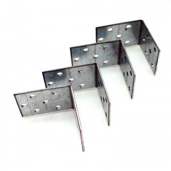 Metall Winkel 50 x 50 x 40 x 2 4er Set